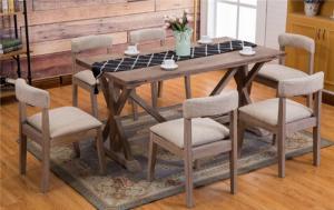 饭店卡座、桌椅的材质有哪些
